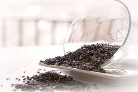 Lavender tea leaves Stock Photo - 670411