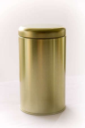 gold cans: Gold Round lattine con coperchio Gavarst