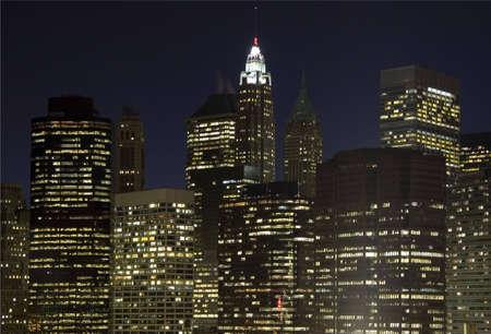 craze: Downtown Manhattan panoramic view, New York City, USA