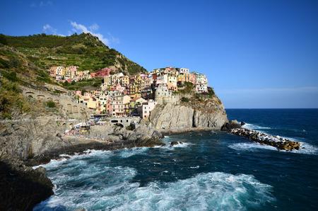 cinque: Cinque Terre, La Spezia, Italy Stock Photo