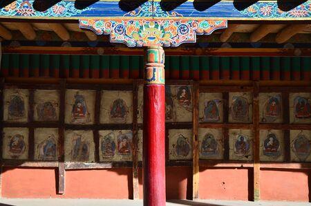 ladakh: Temple in Leh, Ladakh, India