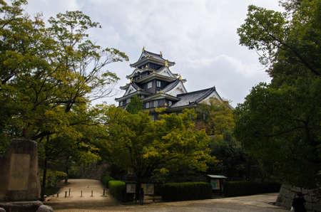 okayama: Okayama castle, Japan