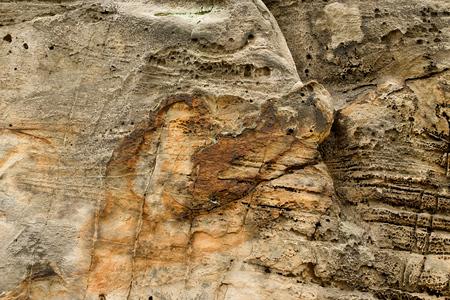 모자이크 사암 벽 스톡 콘텐츠