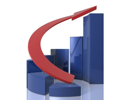 excel: Bar graphs - Ascending - circular
