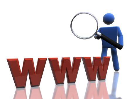 Web search Stock Photo