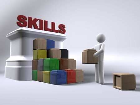 Building skills Stock Photo - 7929788