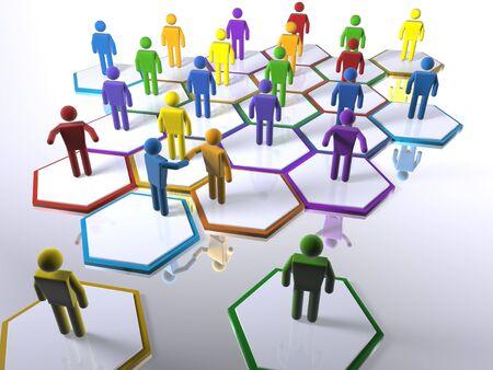 Neue Mitglieder intergrating ins Team - Betonung der Vielfalt