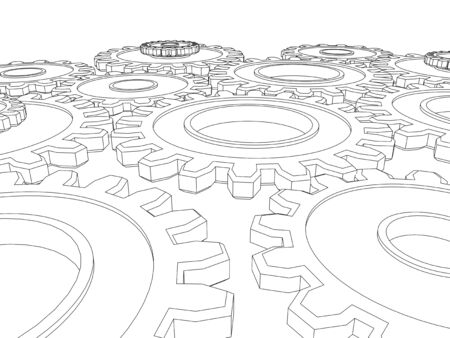 integrated cogs gears