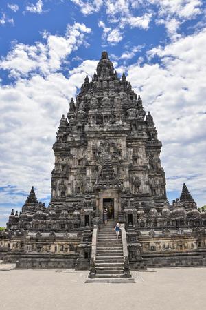 Prambanan temple in Yogyakarta, Java Island
