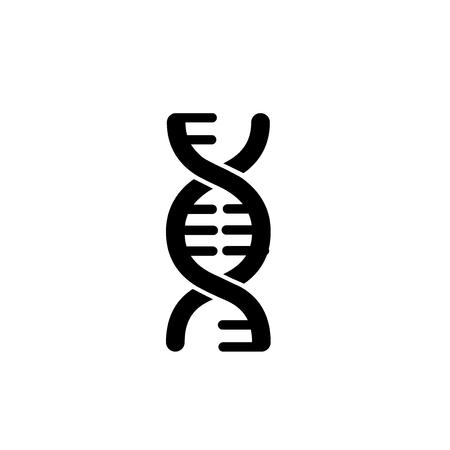 Signo de logotipo de ADN ilustración de isloated vector Logos