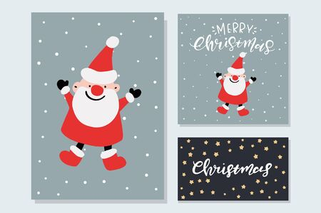 vector cute christmas graphics holiday cards with hand drawn elements holiday backgrounds greeting