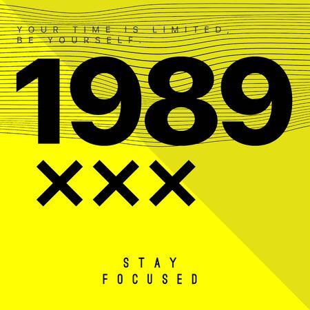 Futuristic Typography Quote, T Shirt Graphic Design, Vector Illustration.