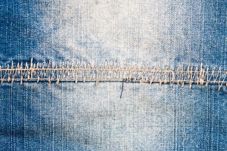 denim background: Texture of blue jeans , Denim background Stock Photo