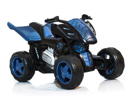 maneuverability: Sports quad bike isolated on a light background Stock Photo