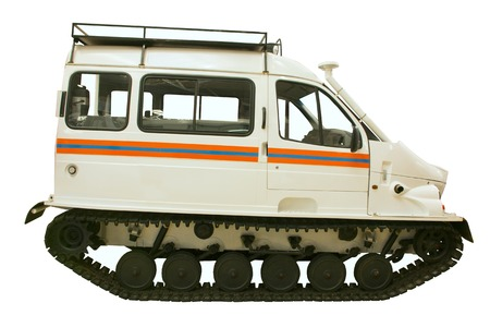 rescue people: special equipment to rescue people crawler drive