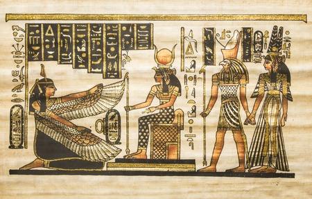 古代エジプトの羊皮紙 写真素材 - 52101516