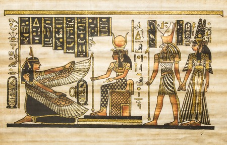 pergamino: pergamino antiguo Egipto