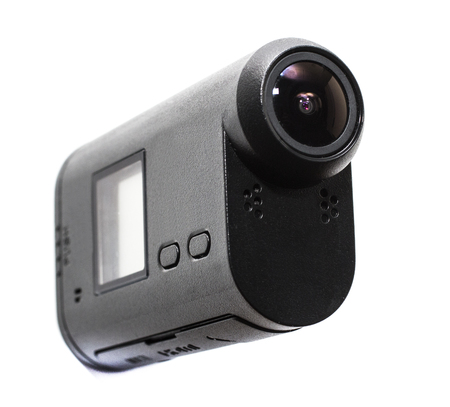 cam: Camera Action Cam on a white background.
