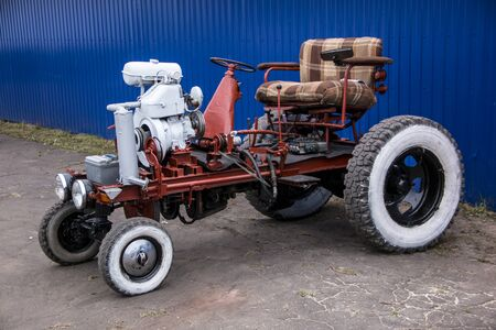 invention of the tractor for the needs of the farmer