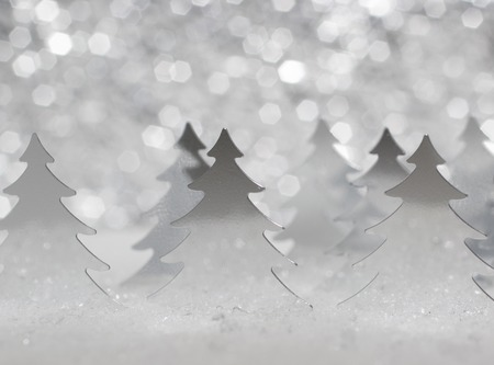 original sparkle: the original card in a minimalist style for happy Christmas Stock Photo