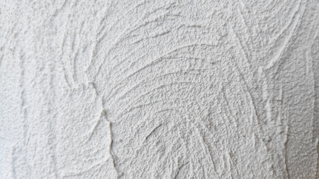 texture of white plastered wall