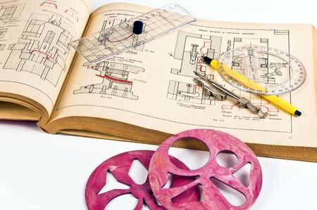 constructing: Mechanical engineer constructing element
