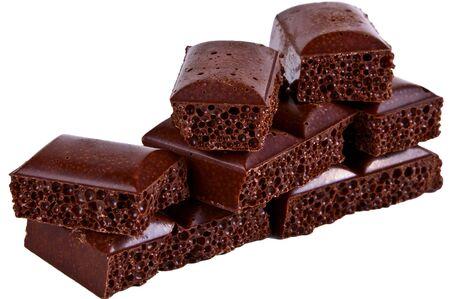 porous: Bitter porous chocolat