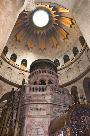 sepulchre: Temple of the Holy Sepulchre in Jerusalem Editorial