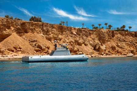 excursions: Excursions submarine near the coast of the Red Sea