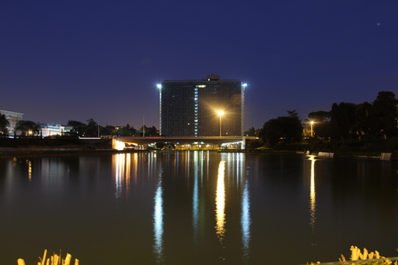 Rome Eur Lake