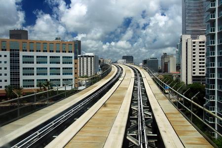 Miami Metromover Banco de Imagens