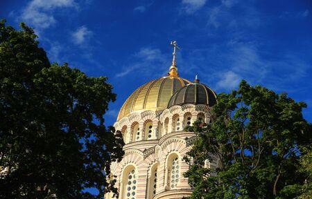 orthodox church: Riga, Latvia. Orthodox Church