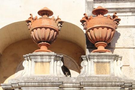 Corsini Palace in Rome 免版税图像