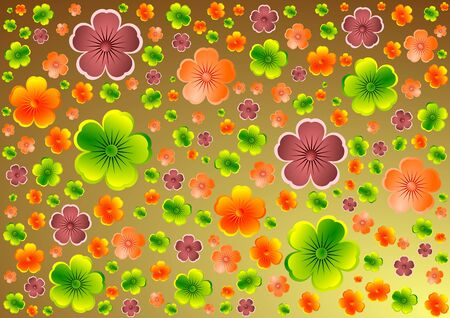 Floral background Stock Photo - 4270809