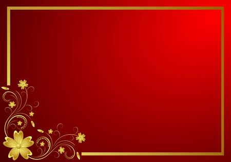 red wallpaper: Decorative background Stock Photo