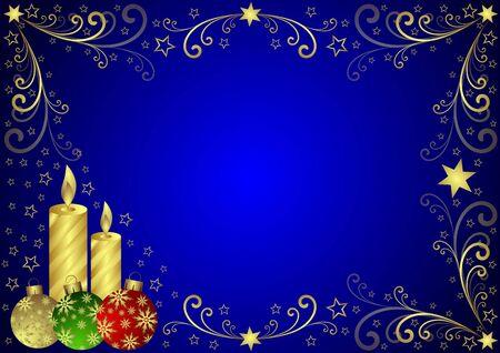 Christmas background Stock Photo - 5733291