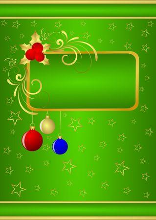 Christmas background Stock Photo - 5753950
