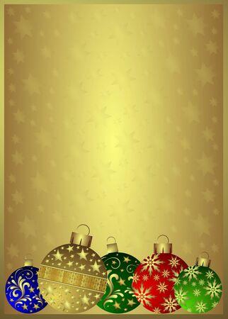 Christmas background Stock Photo - 5835509