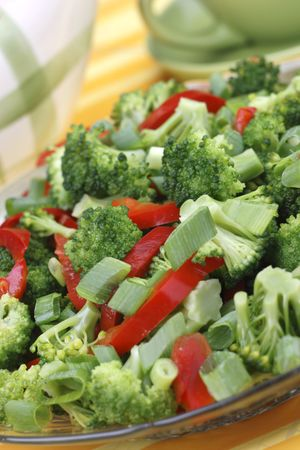 dieting: Broccoli salad