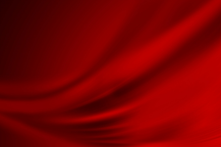 Red abstract background with smooth gradient  Banque d'images