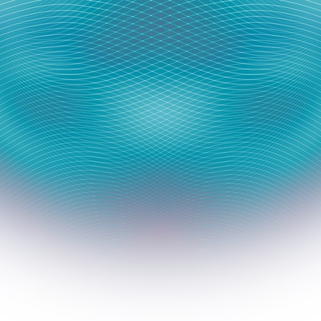 Blue abstract lines and light background  Stock Photo