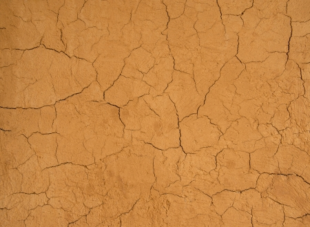 cinders: Pattern cracking of wall home soil  Stock Photo