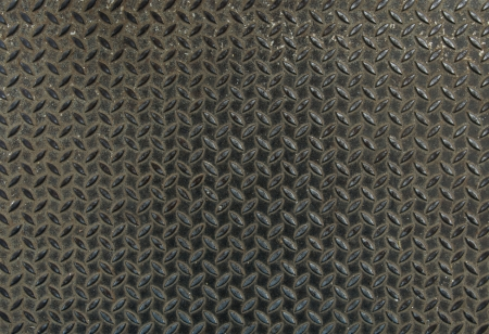 punctuate: Pattern background of pavement made   from steel plate
