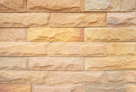 Pattern background of block sandstone wall Stock Photo - 20777844