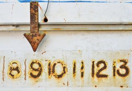 The score bar of petanque  photo