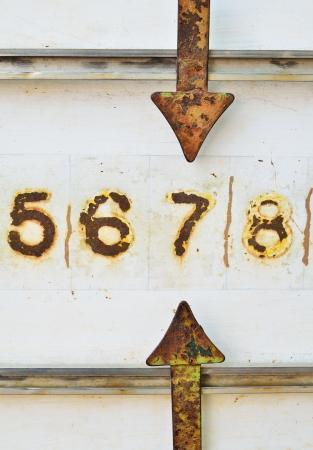 The score bar of petanque Stock Photo - 20777818