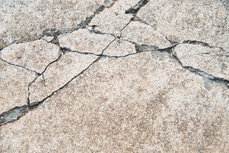 Texture background of cracked concrete road ground Stock Photo - 20777774