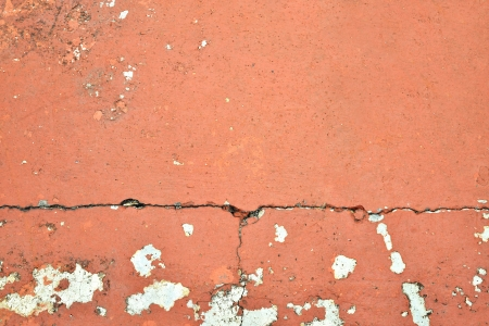 Brown texture background of cracked concrete ground  photo