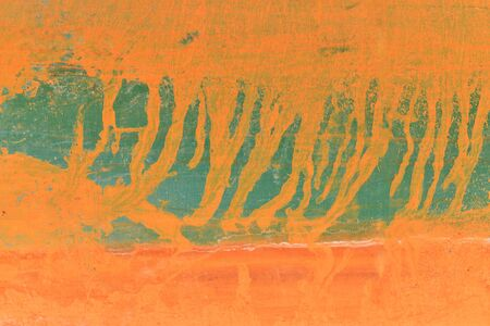 dangerously: Pattern background of colors painted on wooden plate for skating board  Stock Photo