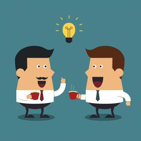 business discussion: Caf�, Idea de negocio